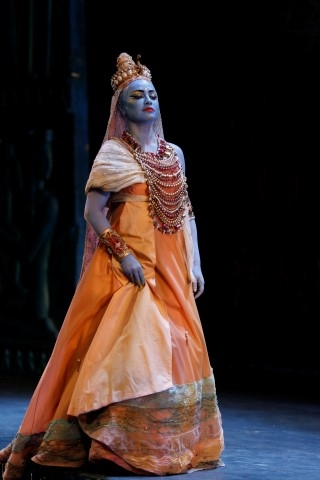 Nino Surguladze as Amneris - Bari 2017